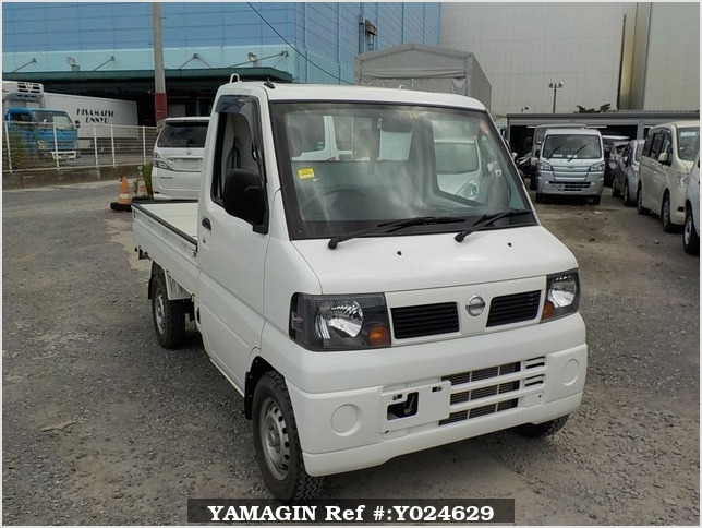 It is a picture of the white nissan clipper truck truck in 2009,Sub Photo 0 Stock No.Y024629