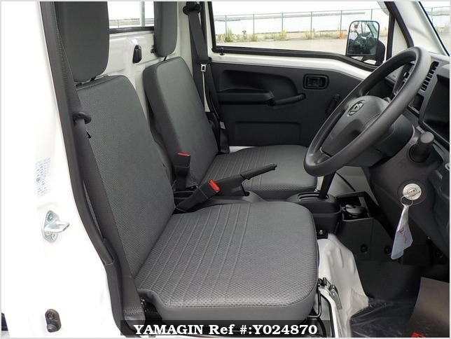 It is a picture of the white daihatsu hijet dump in 2019,Sub Photo 13 Stock No.Y024870