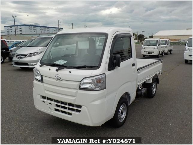 It is a picture of the white daihatsu hijet dump in 2019,Sub Photo 2 Stock No.Y024871