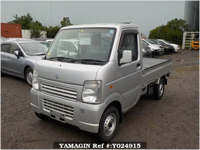 It is a picture of the silver suzuki carry truck in 2012,Sub Photo 1 Stock No.Y024915