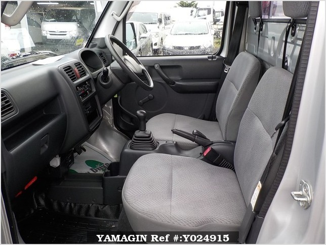 It is a picture of the silver suzuki carry truck in 2012,Sub Photo 11 Stock No.Y024915