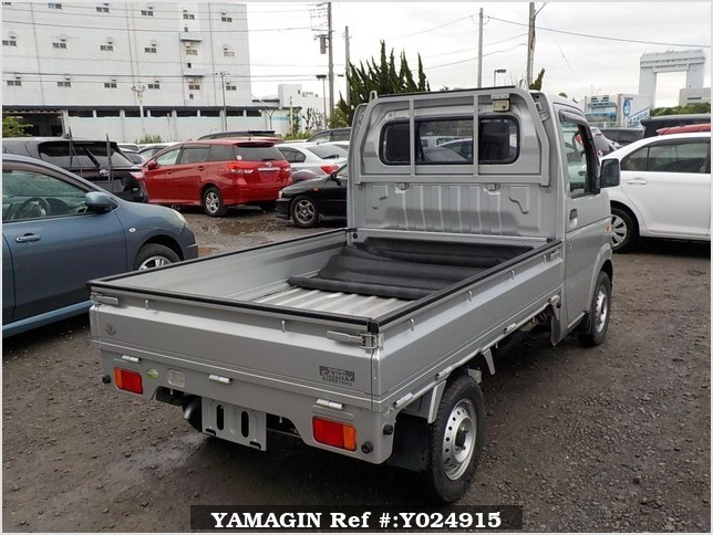 It is a picture of the silver suzuki carry truck in 2012,Sub Photo 2 Stock No.Y024915