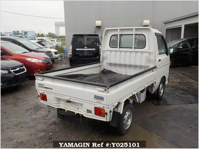 It is a picture of the white daihatsu hijet truck in 1999,Sub Photo 2 Stock No.Y025101