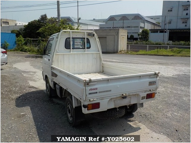 It is a picture of the white daihatsu hijet truck truck in 1993,Sub Photo 3 Stock No.Y025602