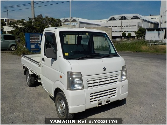 It is a picture of the white suzuki carry truck in 2011,Sub Photo 0 Stock No.Y026176
