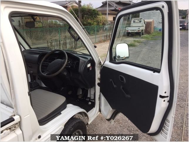 It is a picture of the white suzuki carry truck in 1995,Sub Photo 6 Stock No.Y026267