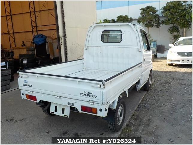 It is a picture of the actual vehicle suzuki carry truck in 2001,Sub Photo 2 Stock No.Y026324