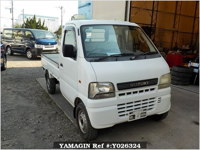 It is a picture of the actual vehicle suzuki carry truck in 2001,Sub Photo 0 Stock No.Y026324