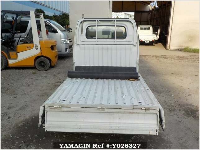 It is a picture of the white mitsubishi minicab truck in 2001,Sub Photo 4 Stock No.Y026327