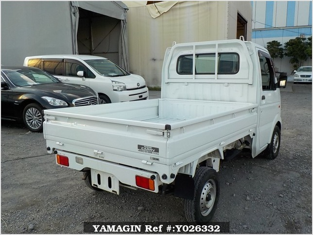 It is a picture of the white suzuki carry dump in 2013,Sub Photo 3 Stock No.Y026332