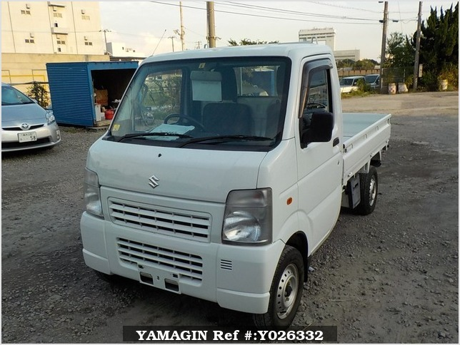 It is a picture of the white suzuki carry dump in 2013,Sub Photo 2 Stock No.Y026332