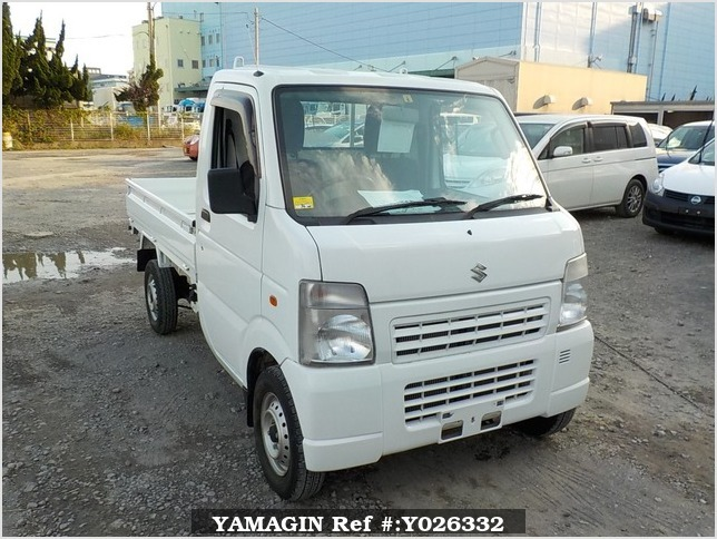 It is a picture of the white suzuki carry dump in 2013,Sub Photo 1 Stock No.Y026332