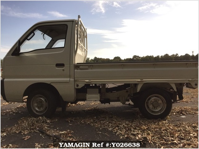 It is a picture of the white suzuki carry truck in 1995,Sub Photo 5 Stock No.Y026638