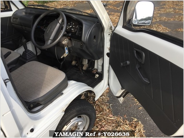 It is a picture of the white suzuki carry truck in 1995,Sub Photo 10 Stock No.Y026638