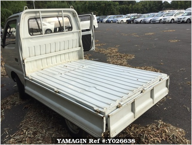 It is a picture of the white suzuki carry truck in 1995,Sub Photo 8 Stock No.Y026638