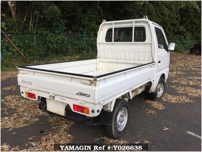It is a picture of the white suzuki carry truck in 1995,Sub Photo 2 Stock No.Y026638