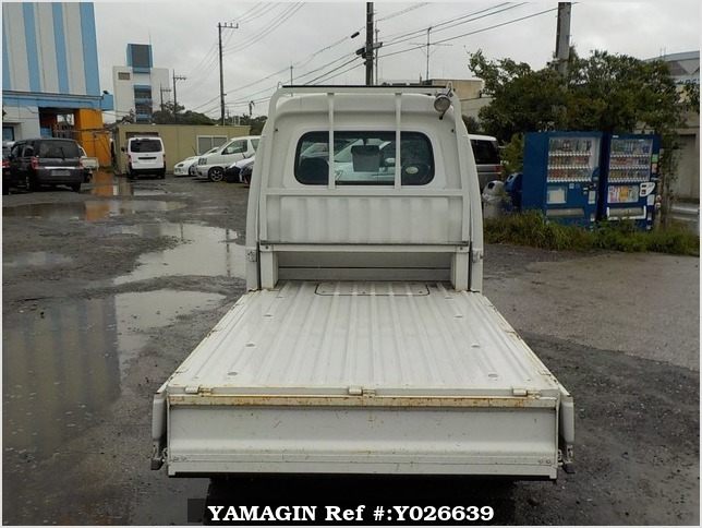 It is a picture of the white daihatsu hijet jumbo in 2008,Sub Photo 4 Stock No.Y026639