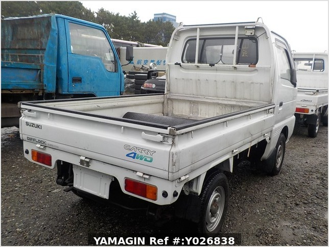 It is a picture of the white suzuki carry truck in 1991,Sub Photo 2 Stock No.Y026838