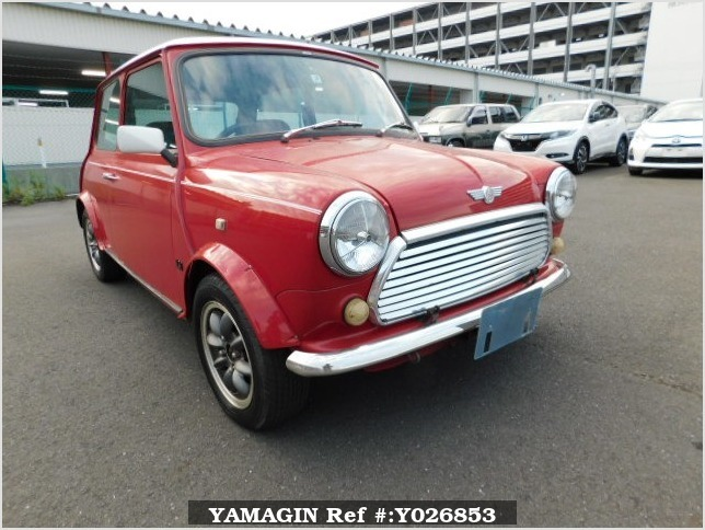 It is a picture of the red rover mini in 1994,Sub Photo 0 Stock No.Y026853