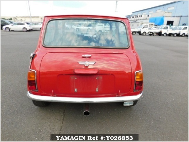 It is a picture of the red rover mini in 1994,Sub Photo 4 Stock No.Y026853