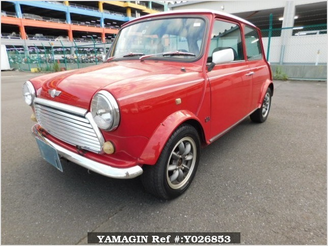 It is a picture of the red rover mini in 1994,Sub Photo 1 Stock No.Y026853