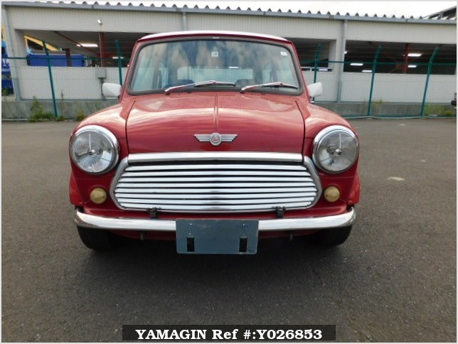 It is a picture of the red rover mini in 1994,Sub Photo 5 Stock No.Y026853