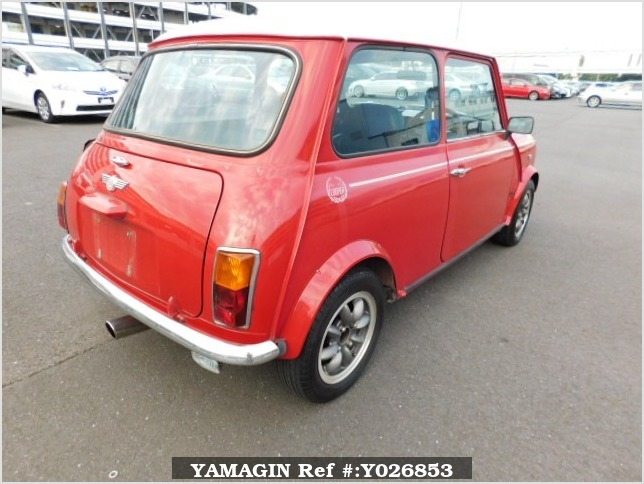 It is a picture of the red rover mini in 1994,Sub Photo 2 Stock No.Y026853