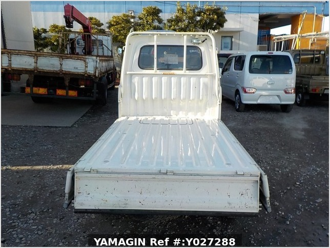 It is a picture of the white daihatsu hijet truck in 1995,Sub Photo 4 Stock No.Y027288