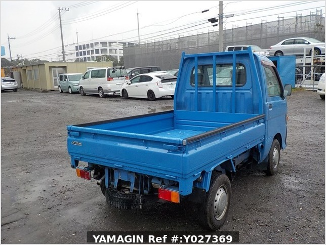 It is a picture of the blue daihatsu hijet dump in 1998,Sub Photo 3 Stock No.Y027369