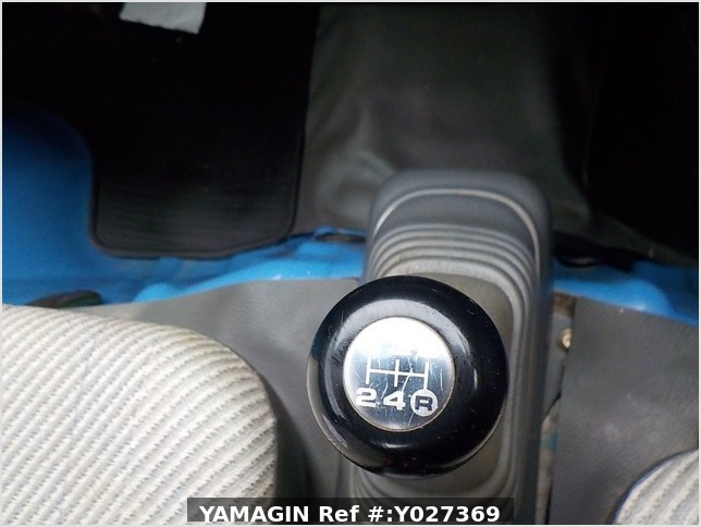It is a picture of the blue daihatsu hijet dump in 1998,Sub Photo 8 Stock No.Y027369
