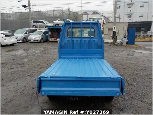 It is a picture of the blue daihatsu hijet dump in 1998,Sub Photo 5 Stock No.Y027369