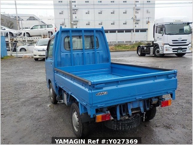 It is a picture of the blue daihatsu hijet dump in 1998,Sub Photo 4 Stock No.Y027369
