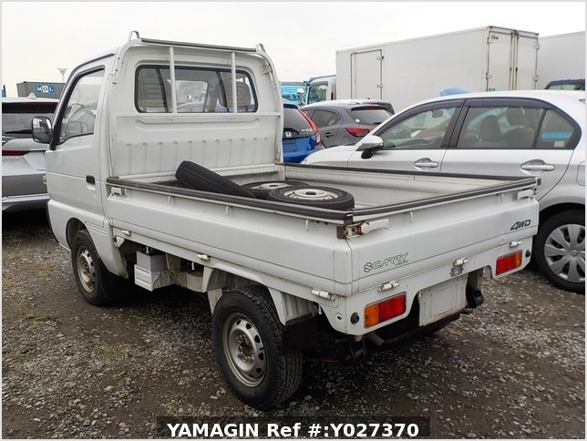 It is a picture of the white suzuki carry  truck in 1993,Sub Photo 3 Stock No.Y027370