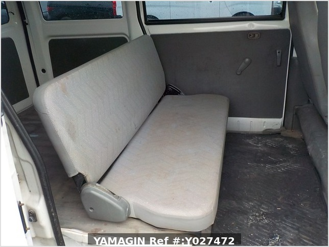 It is a picture of the white mitsubishi minicab passenger van in 2001,Sub Photo 14 Stock No.Y027472