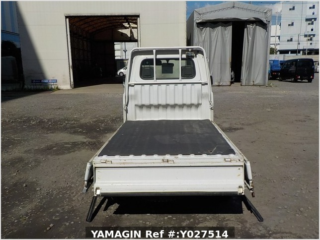 It is a picture of the white daihatsu hijet truck in 1996,Sub Photo 4 Stock No.Y027514