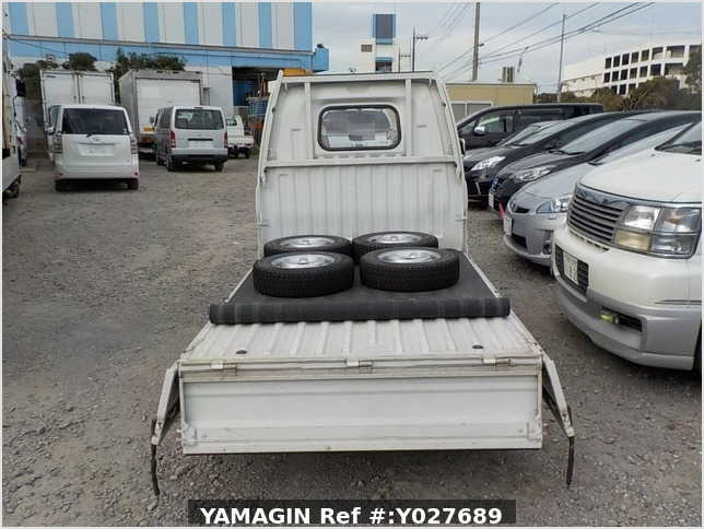 It is a picture of the white mitsubishi minicab truck in 1993,Sub Photo 4 Stock No.Y027689
