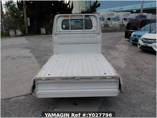 It is a picture of the white mitsubishi minicab dump in 2001,Sub Photo 5 Stock No.Y027796