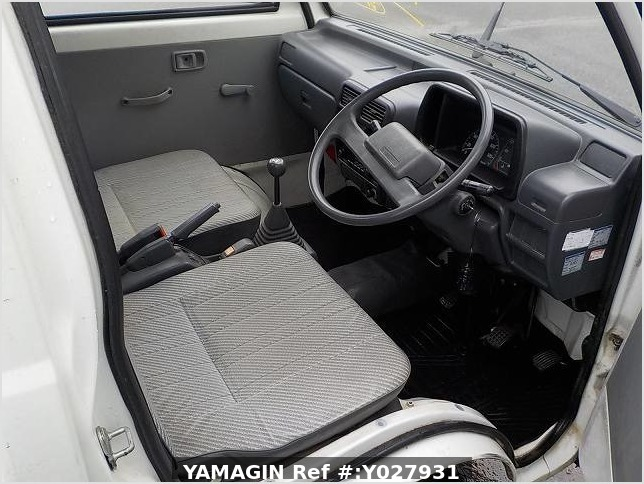 It is a picture of the white daihatsu hijet truck in 1993,Sub Photo 1 Stock No.Y027931
