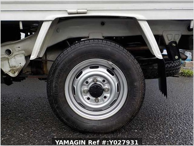It is a picture of the white daihatsu hijet truck in 1993,Sub Photo 4 Stock No.Y027931