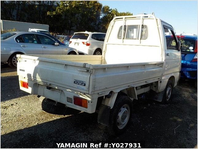 It is a picture of the white daihatsu hijet truck in 1993,Sub Photo 2 Stock No.Y027931