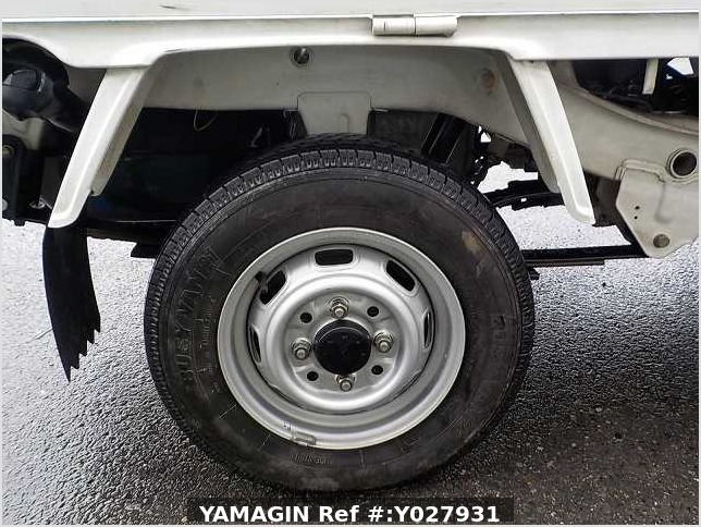 It is a picture of the white daihatsu hijet truck in 1993,Sub Photo 5 Stock No.Y027931