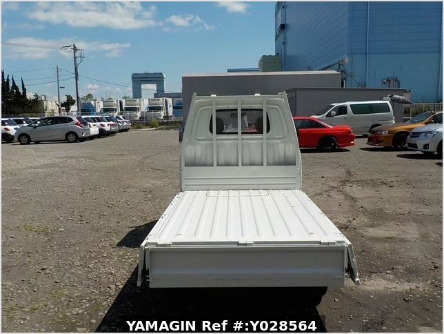 It is a picture of the white daihatsu hijet  dump in 1992,Sub Photo 12 Stock No.Y028564