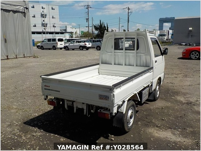 It is a picture of the white daihatsu hijet  dump in 1992,Sub Photo 10 Stock No.Y028564
