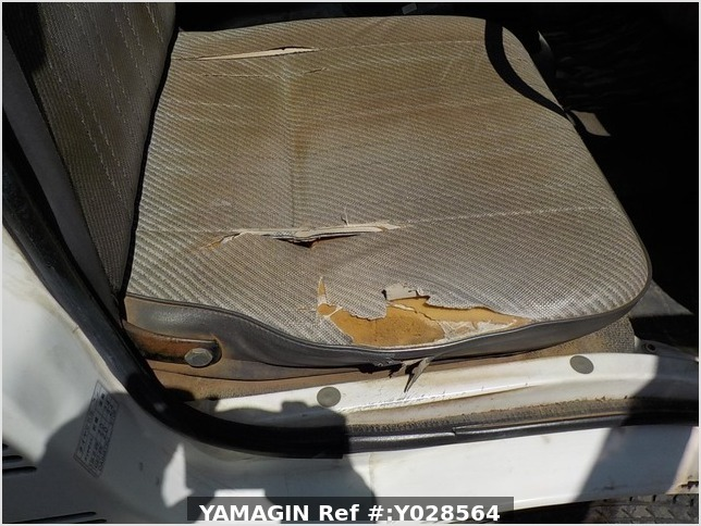 It is a picture of the white daihatsu hijet  dump in 1992,Sub Photo 22 Stock No.Y028564