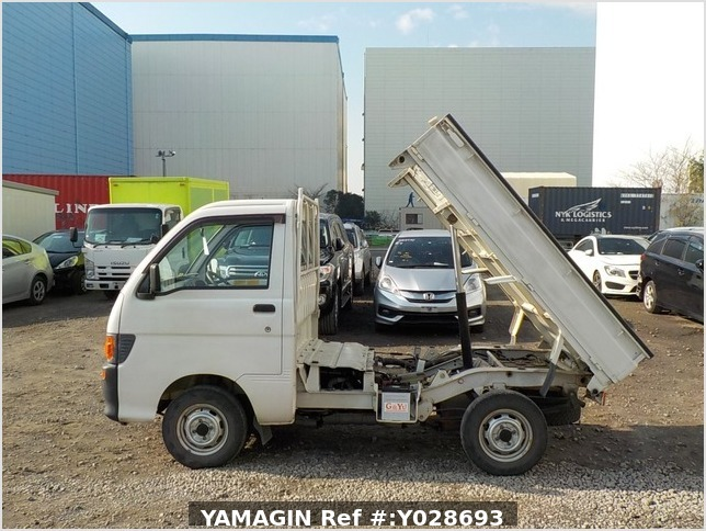 It is a picture of the white daihatsu hijet dump in 1997,Sub Photo 6 Stock No.Y028693
