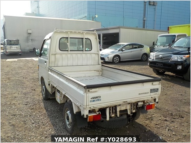 It is a picture of the white daihatsu hijet dump in 1997,Sub Photo 4 Stock No.Y028693