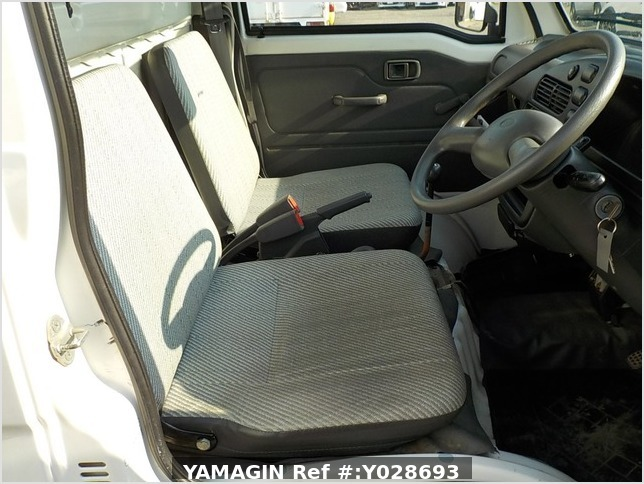 It is a picture of the white daihatsu hijet dump in 1997,Sub Photo 7 Stock No.Y028693