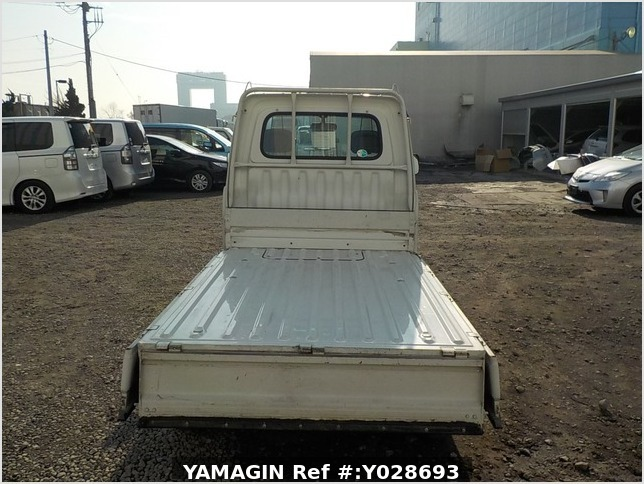 It is a picture of the white daihatsu hijet dump in 1997,Sub Photo 5 Stock No.Y028693