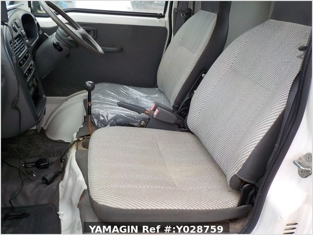 It is a picture of the white daihatsu hijet  jumbo in 1997,Sub Photo 13 Stock No.Y028759