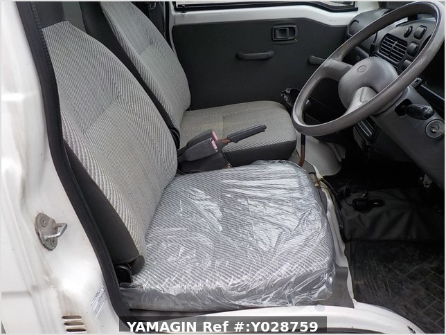 It is a picture of the white daihatsu hijet  jumbo in 1997,Sub Photo 12 Stock No.Y028759